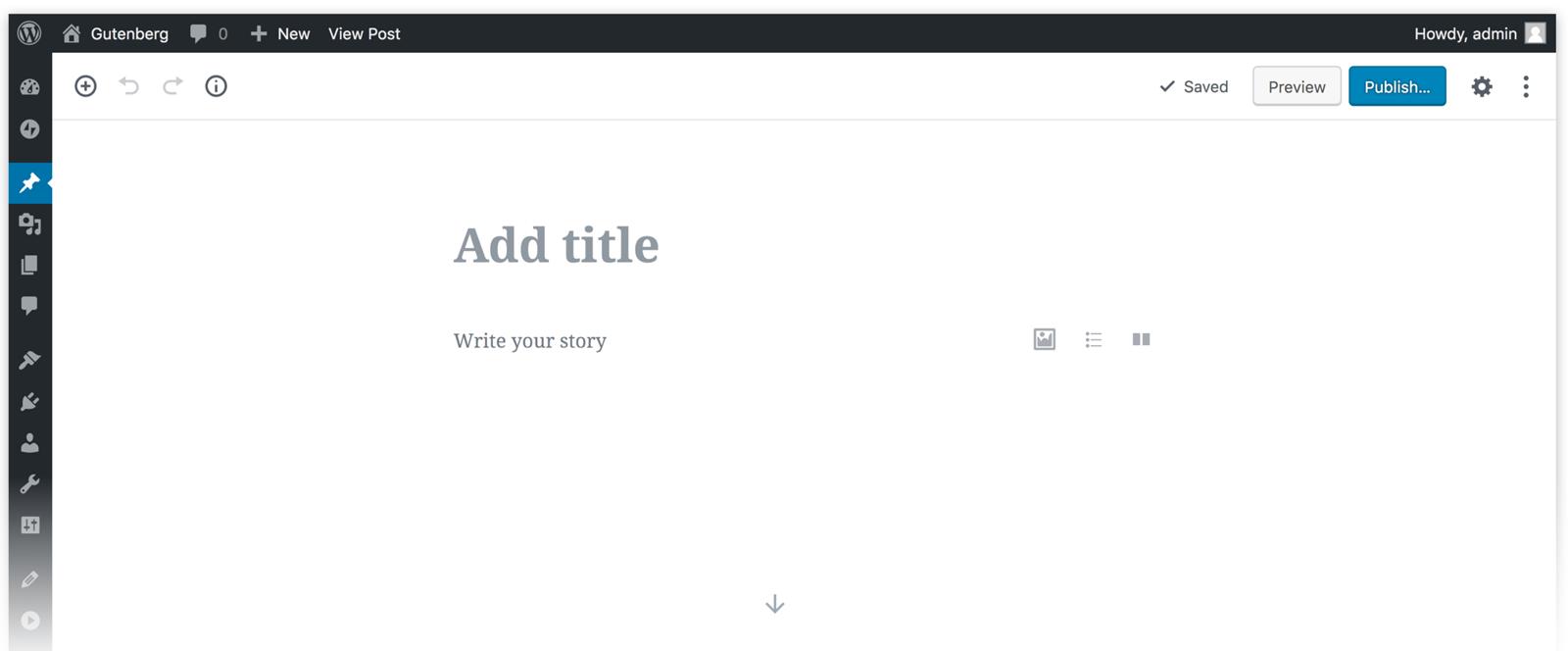 WordPress 5.0 och nya redigeraren Gutenberg