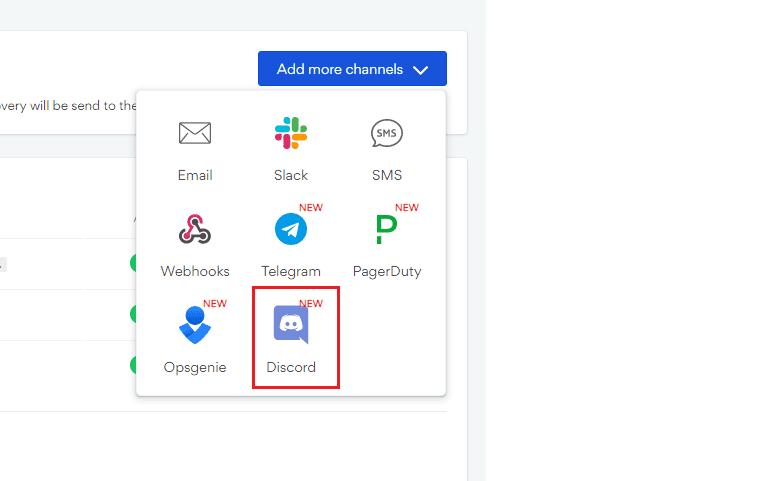 Add a new Discord channel