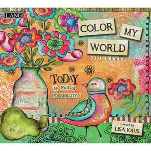 Lang 2021 Color My World Calendar