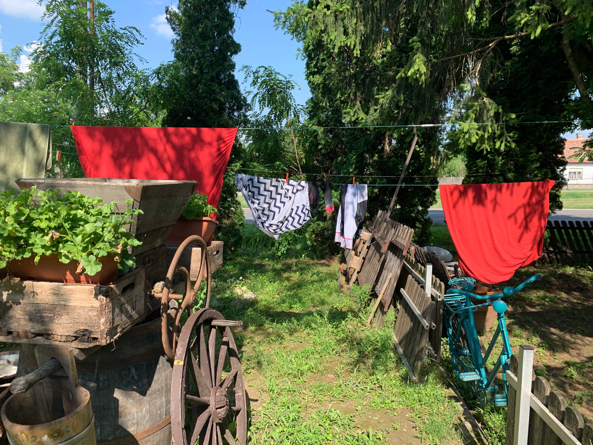 Best guesthouse had a clothes line for stanky kit