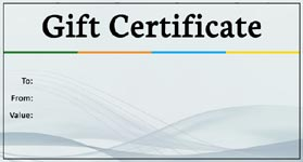 Gift Certificate Template Business 01