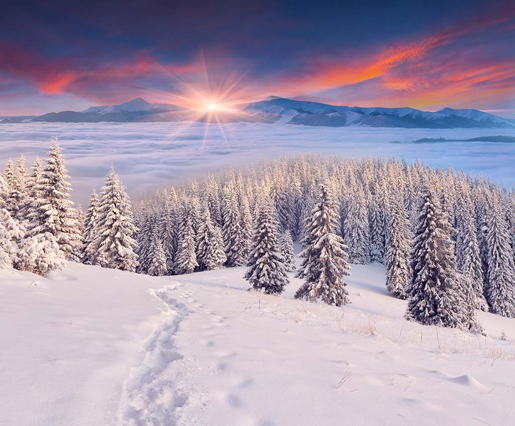 Why can't the Sun melt Snow?
