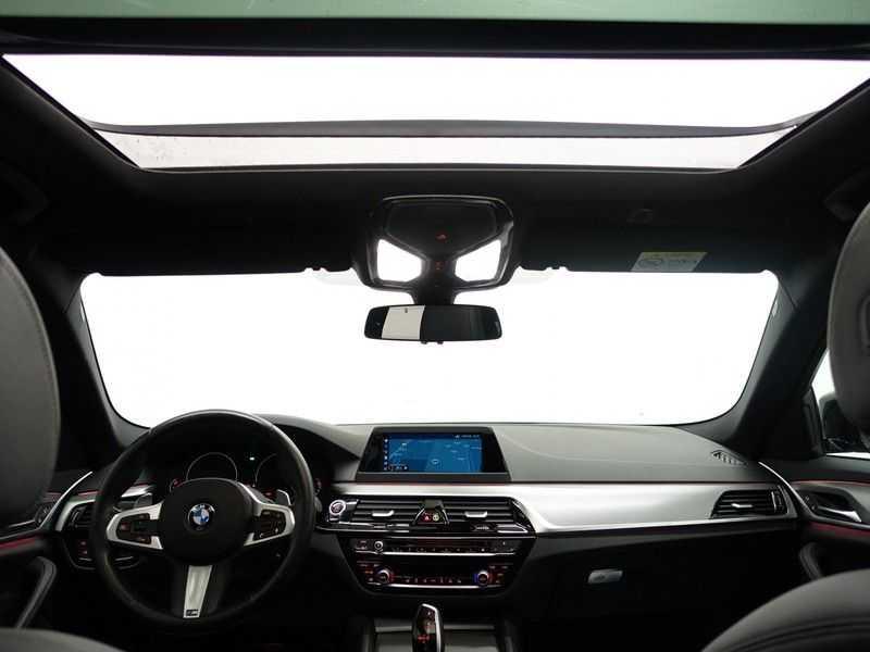 BMW 5 Serie Touring 520i High Exe 210pk M- Perfomance Powerkit- Pano, Leer, Full afbeelding 18