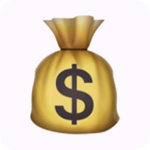 showmethemoney moneybag emoji logo