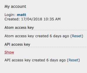 Redmine Find API Key Stage 2