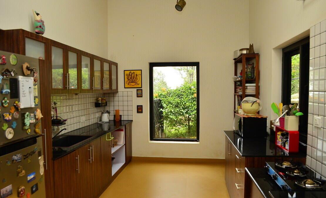 House in Sua Serenitea Malhar Kitchen