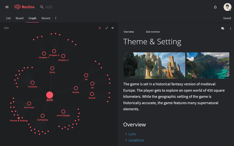 Game design document example