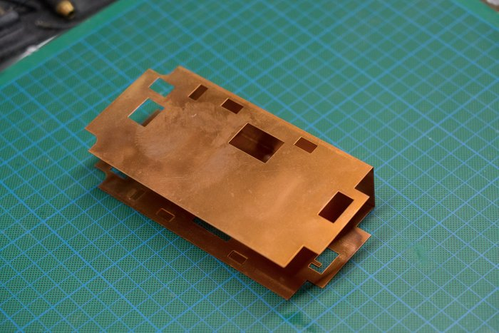 Copper Power Distribution Board