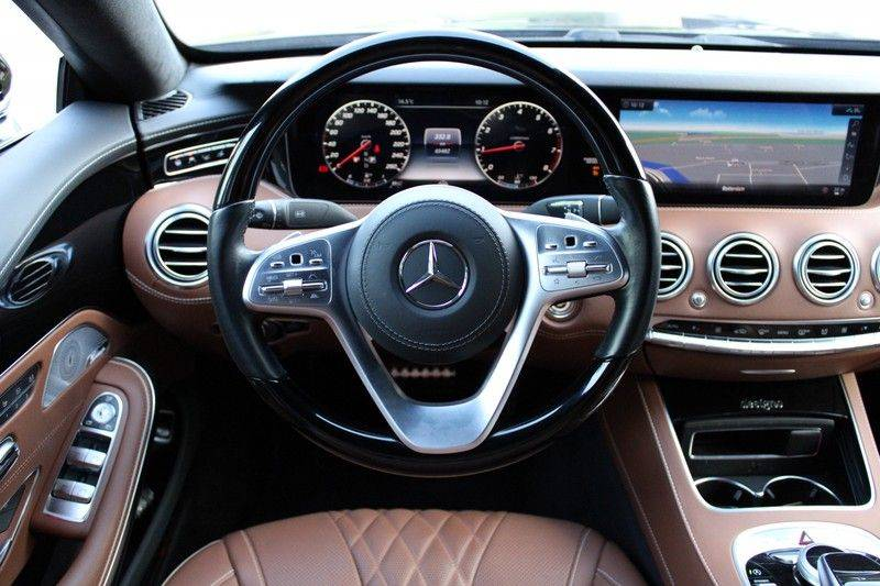 Mercedes-Benz S-Klasse Cabrio 560 Premium Plus AMG-pakket, Burmester, 360 camera, Alcantara hemel, Stoelkoeling afbeelding 8