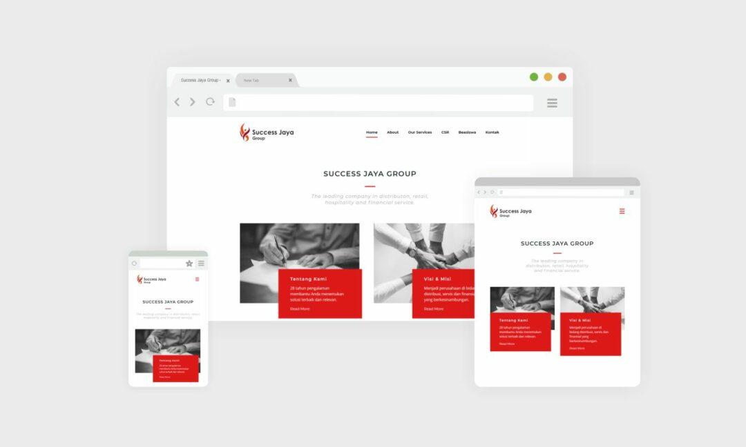 Website Success Jaya Group