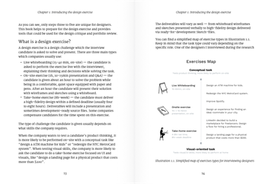 Chapter 1: Introducting the design exercise