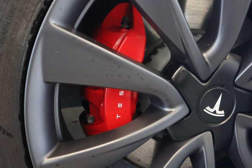 Tesla Model 3 Performance | prijs ex.btw 51450,- | 20`LM Donker grijs. afbeelding 20