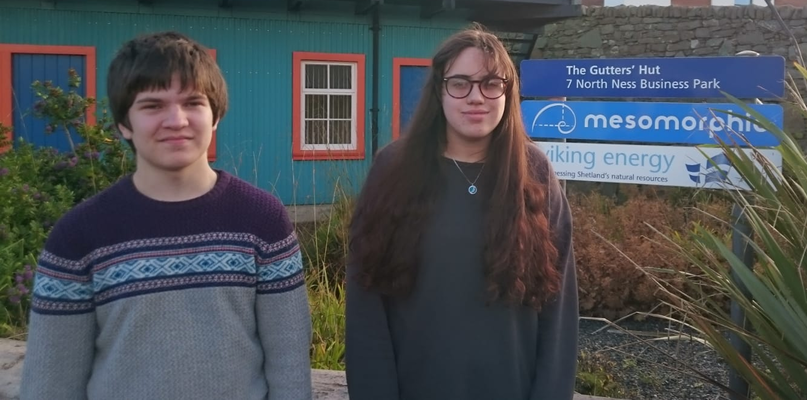 Thomas and Carys share details about their work experience placement with Mesomorphic.