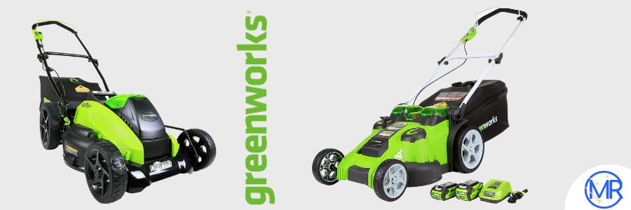 Greenworks Mower Image