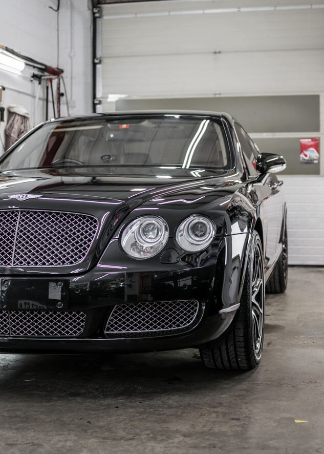 Bentley Flying Spur Paint Correction,Paint Enhancement,Headlight Restoration