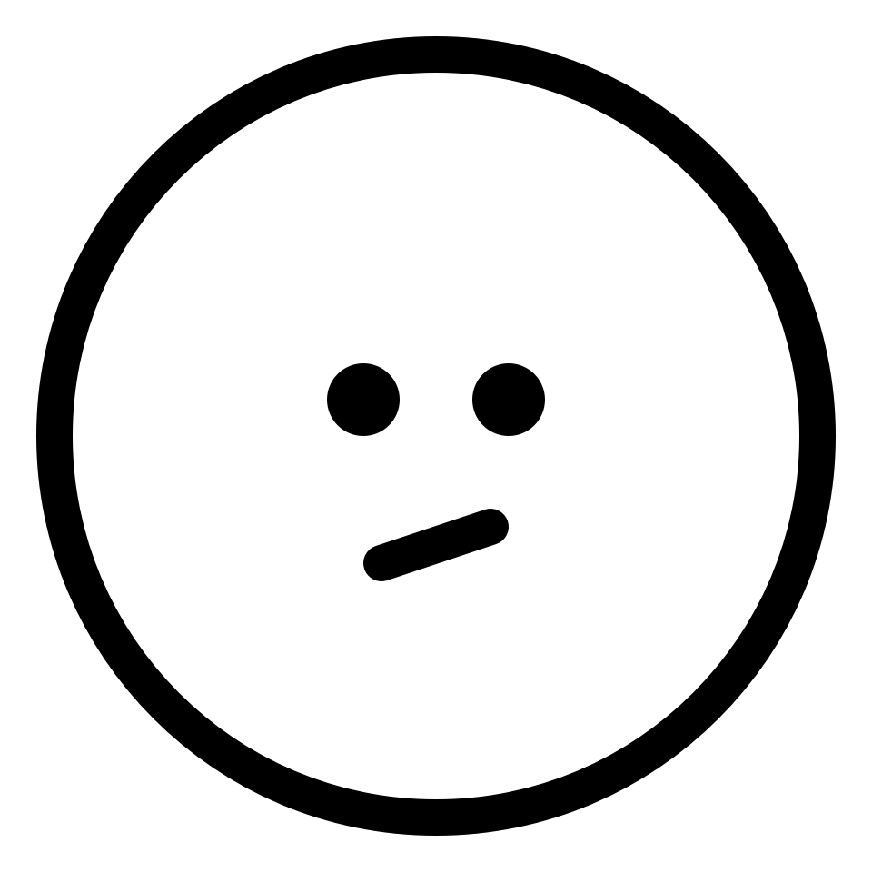 Emoji meh