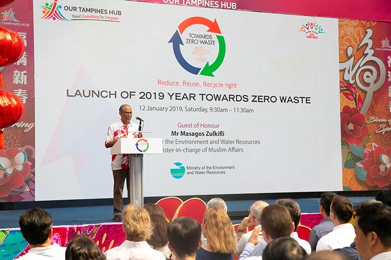 launch of year towards zero waste