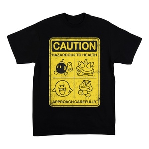 Mario Caution - T Shirt