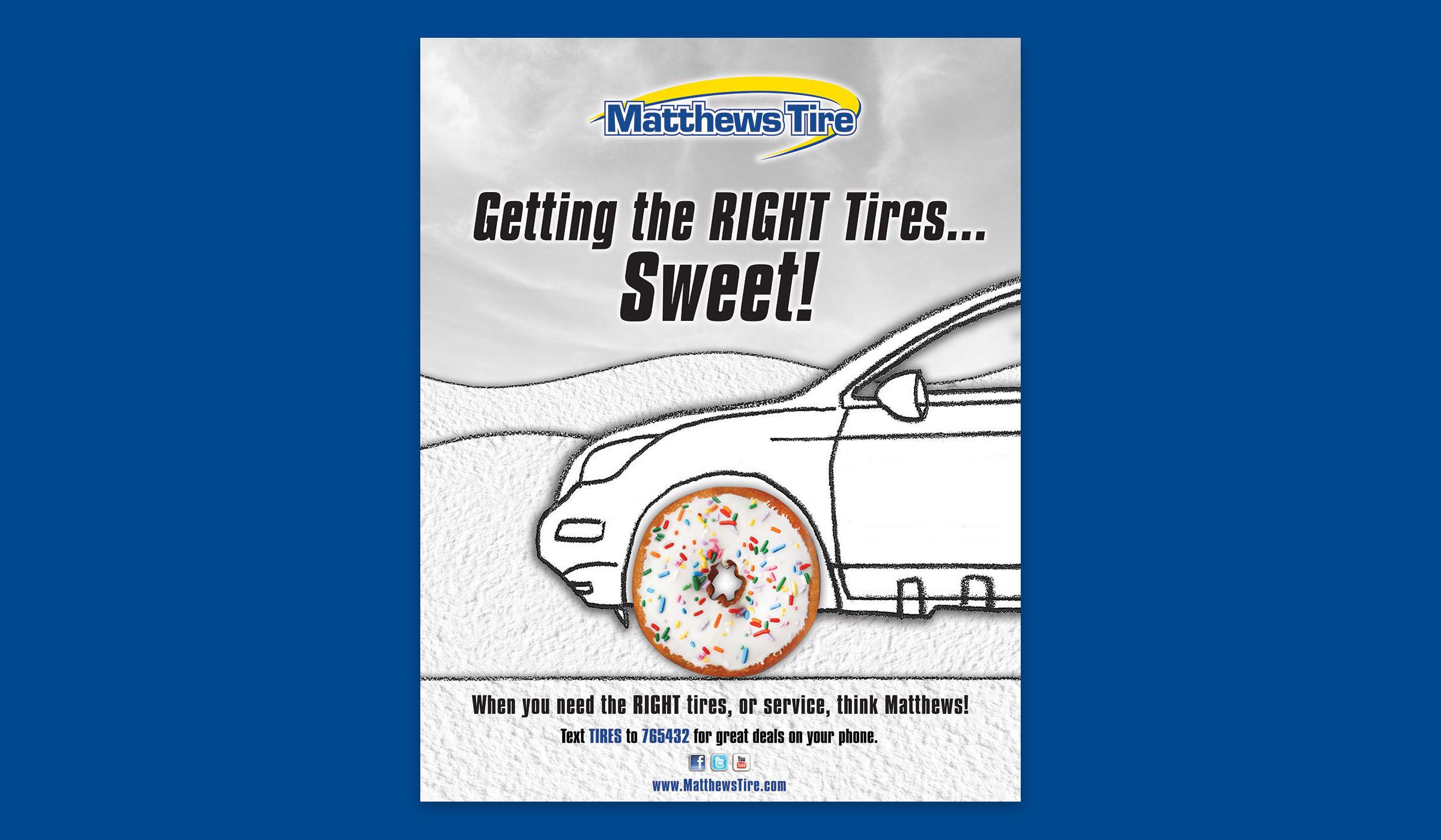 Matthews Tire Print Ad