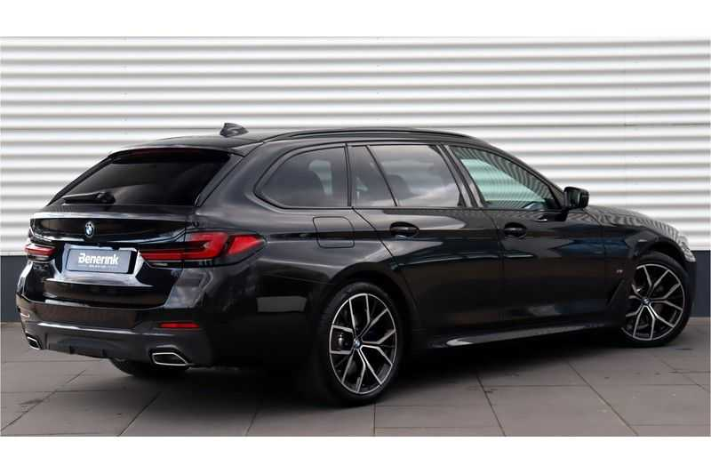 BMW 5 Serie Touring 530i High Executive M Sport Driving Assistant Prof, Head-Up Display, DAB, Memory afbeelding 9