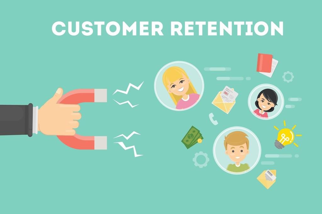 Retaining customers magnet