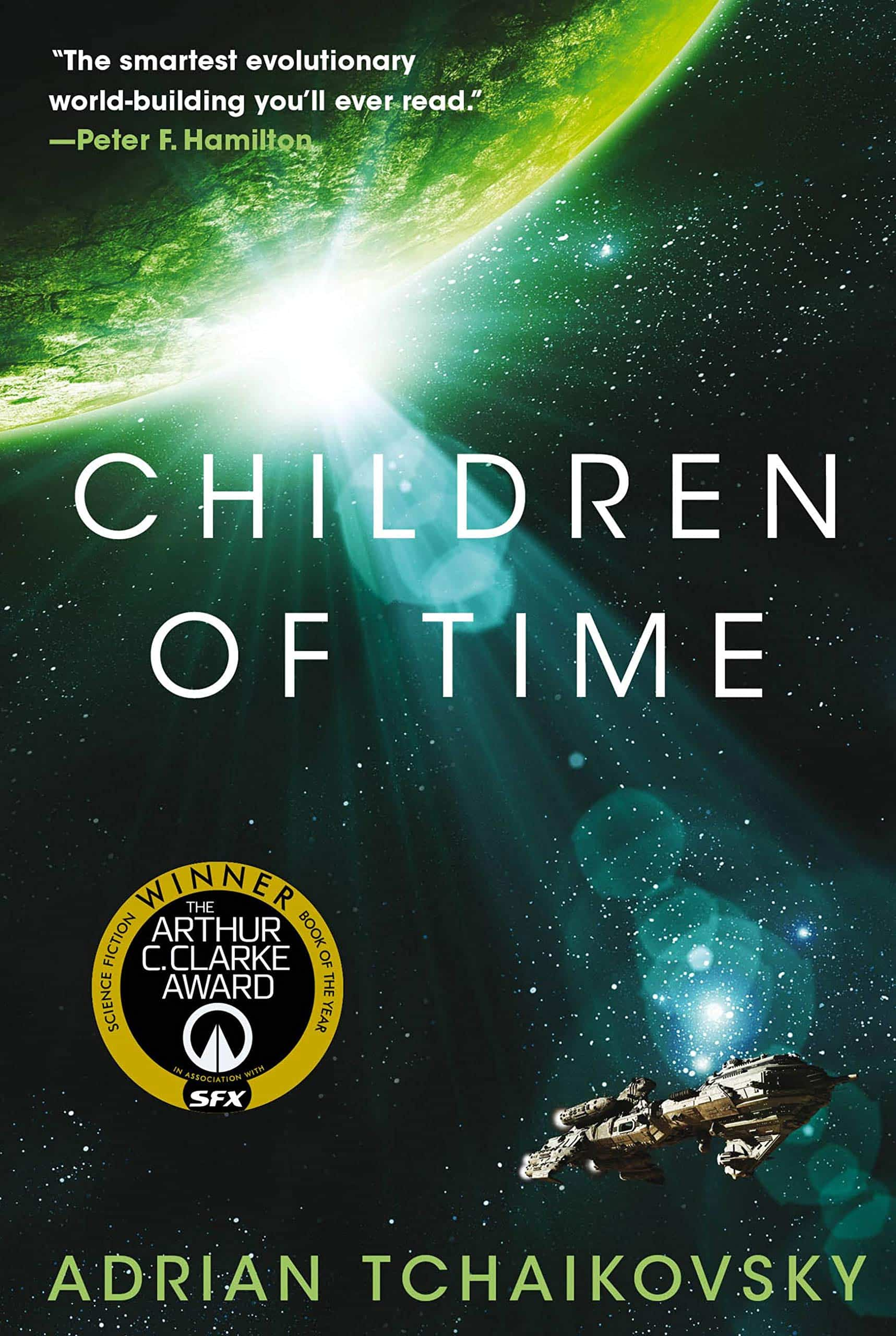 The cover of Children of Time