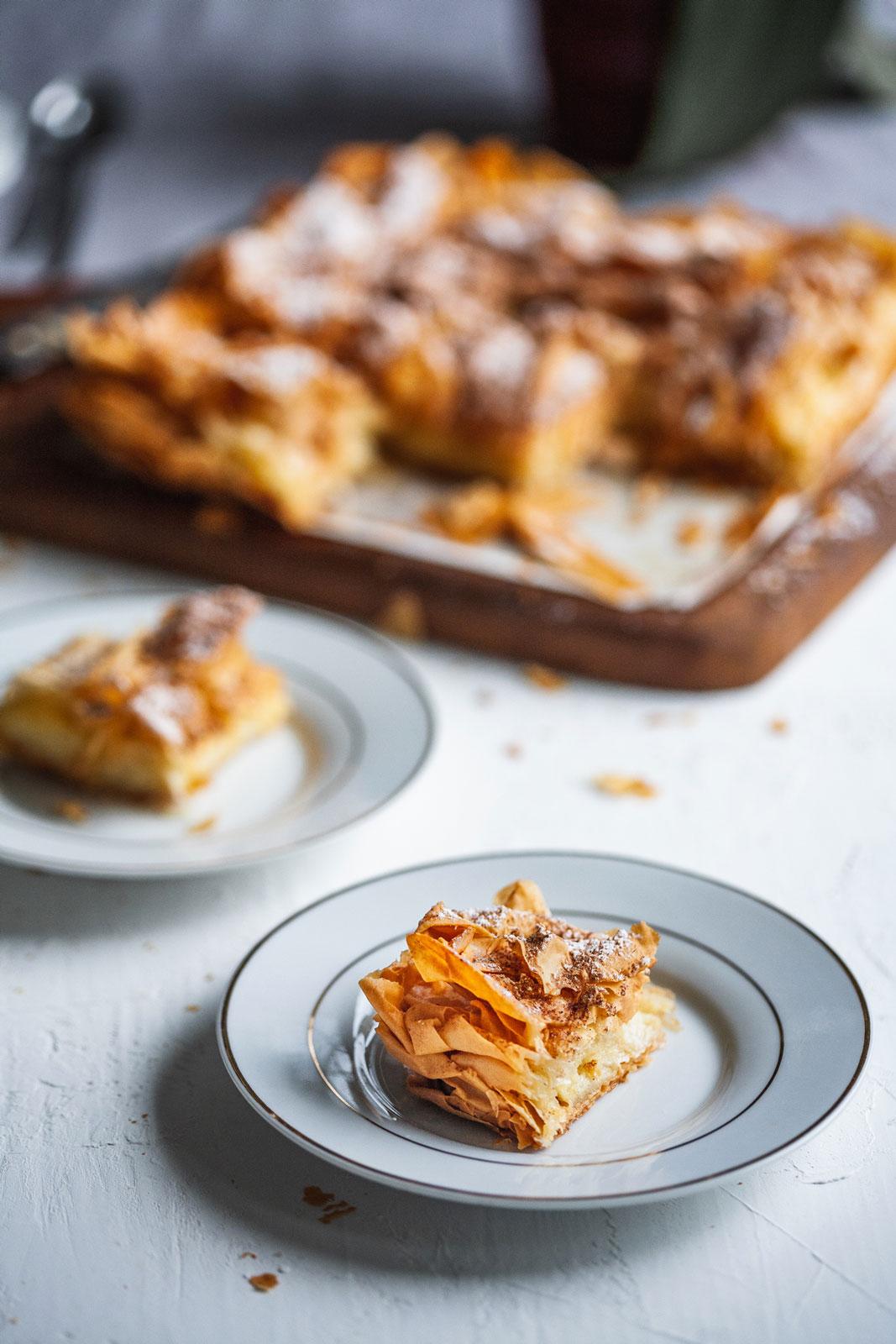 Greek-Style Custard Pastry