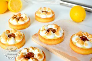 Lemon and Praline Tart