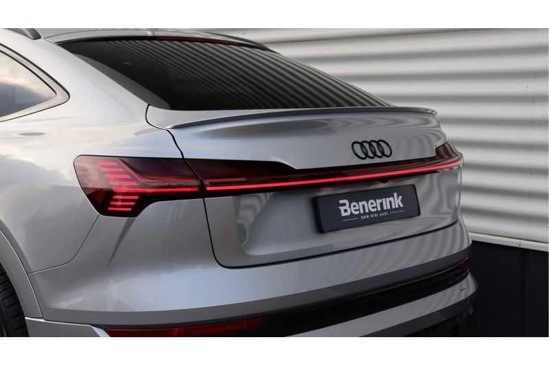 Audi e-tron Sportback 55 quattro S line excl. BTW Panoramadak, S Sportstoelen, Head Up display afbeelding 12