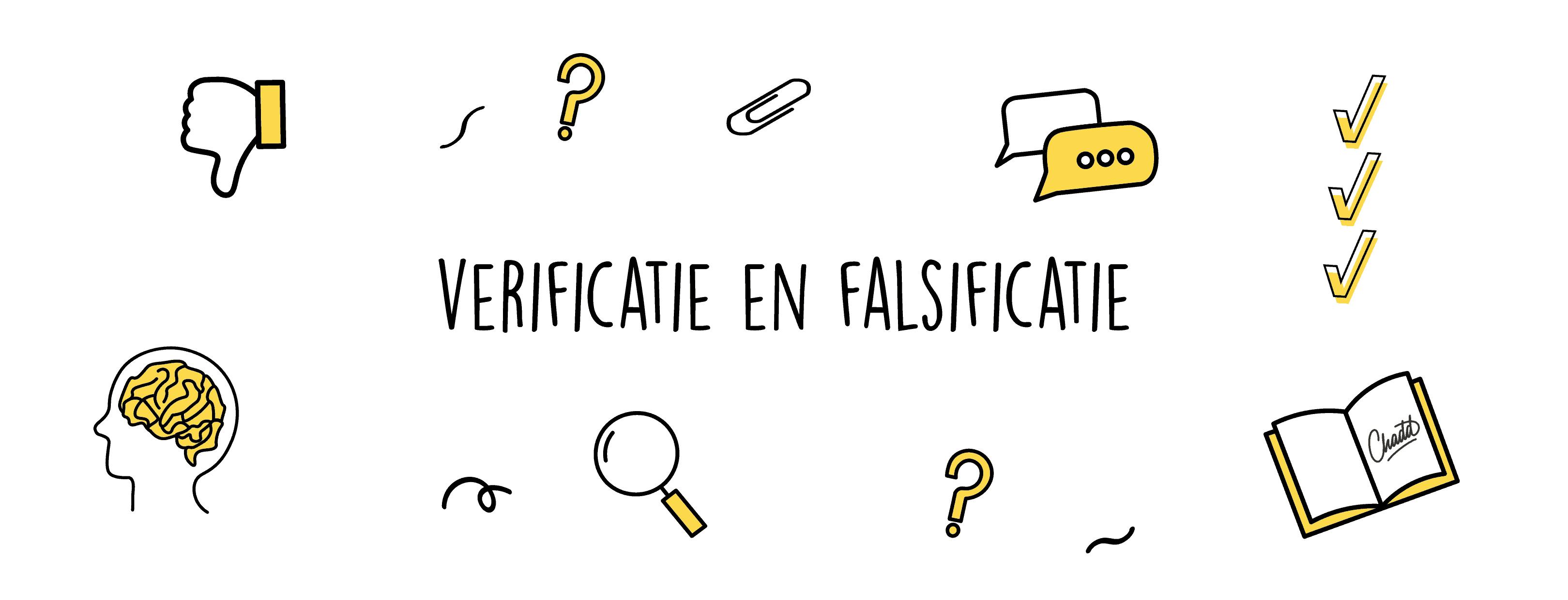 verificatie en falsificatie-