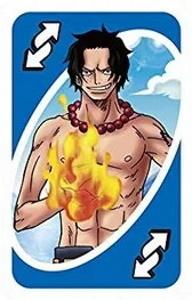 One Piece (2016) Blue Uno Reverse Card