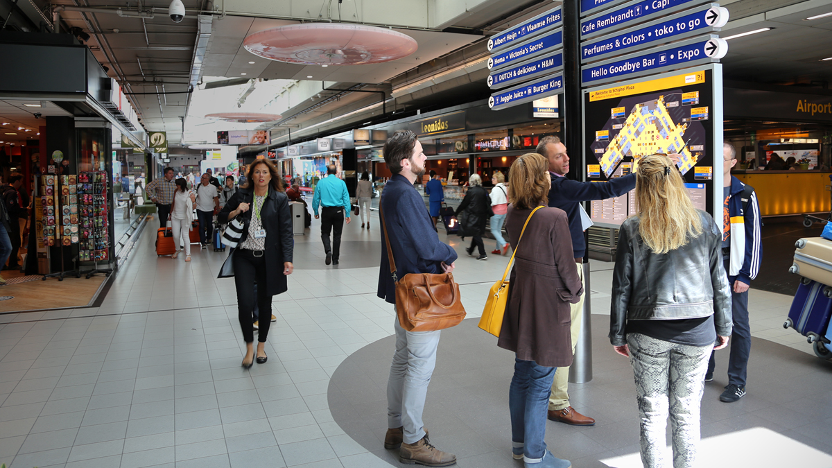 feature image of 'Designing Schiphol Airport experience' case study