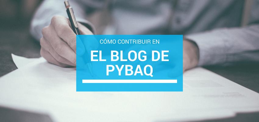 Contribuir PyBAQ