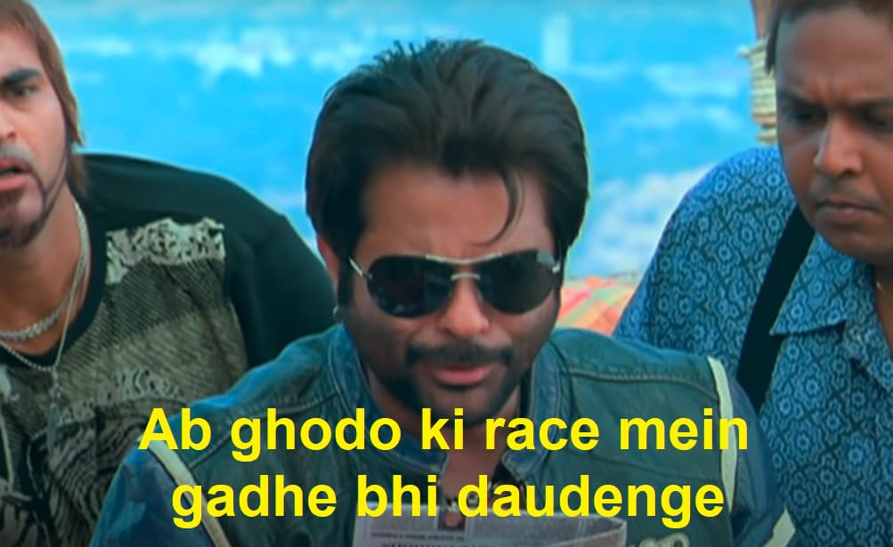 Majnu Bhai (Anil Kapoor) in Welcome: Ab Ghodo Ki Race Mein Gadhe Bhi Daudenge