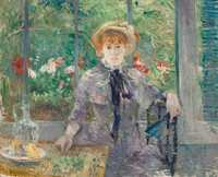 Berthe Morisot's Apres Le Dejuner was sold by Christie's London in July 2013 for almost £7 million