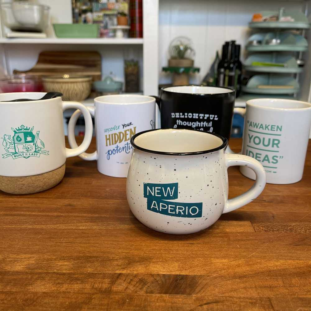 NewAperio - camp coffee mug