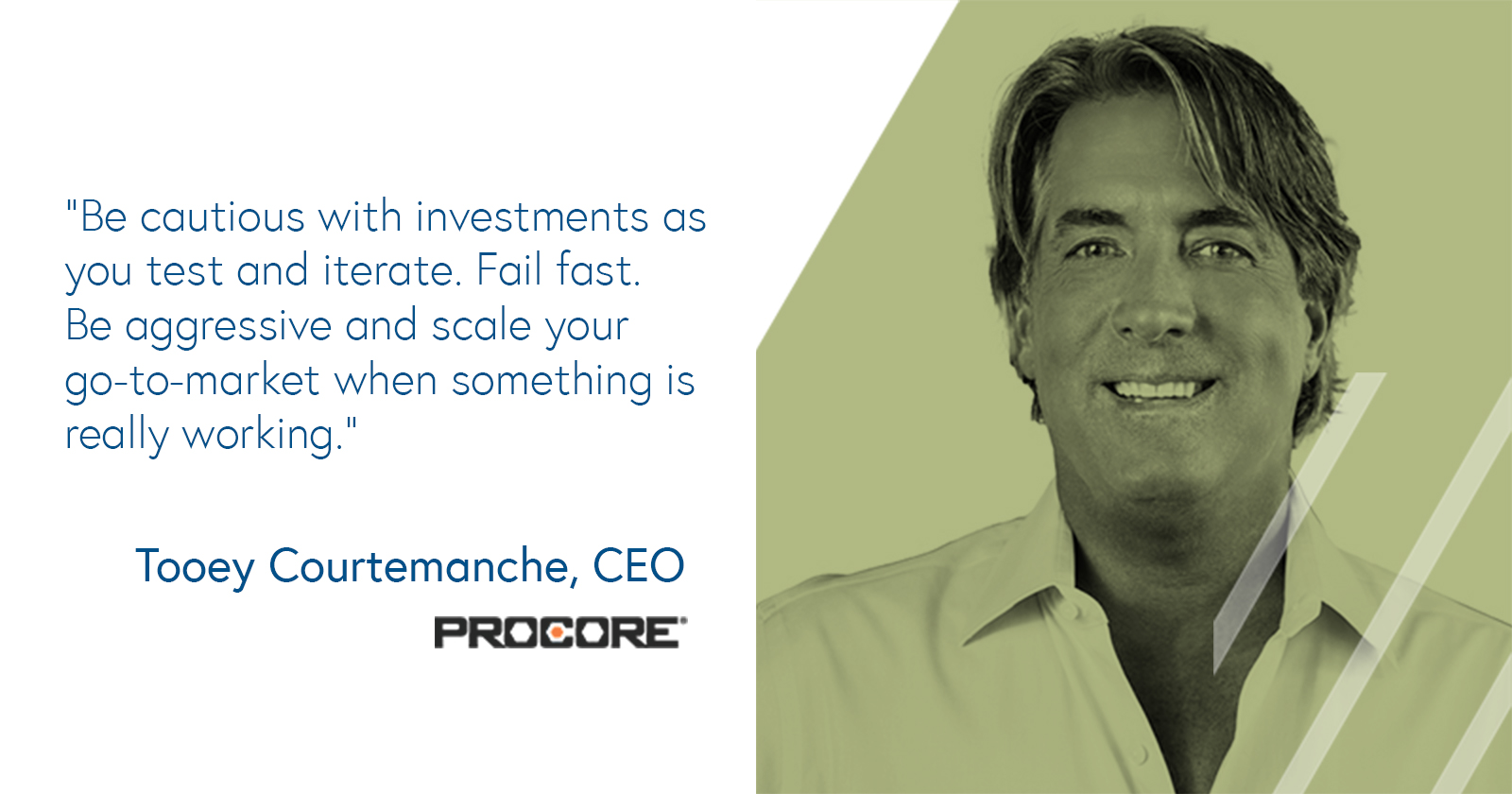 Tooey Courtemanche, CEO of Procore on investing in Sales and Marketing