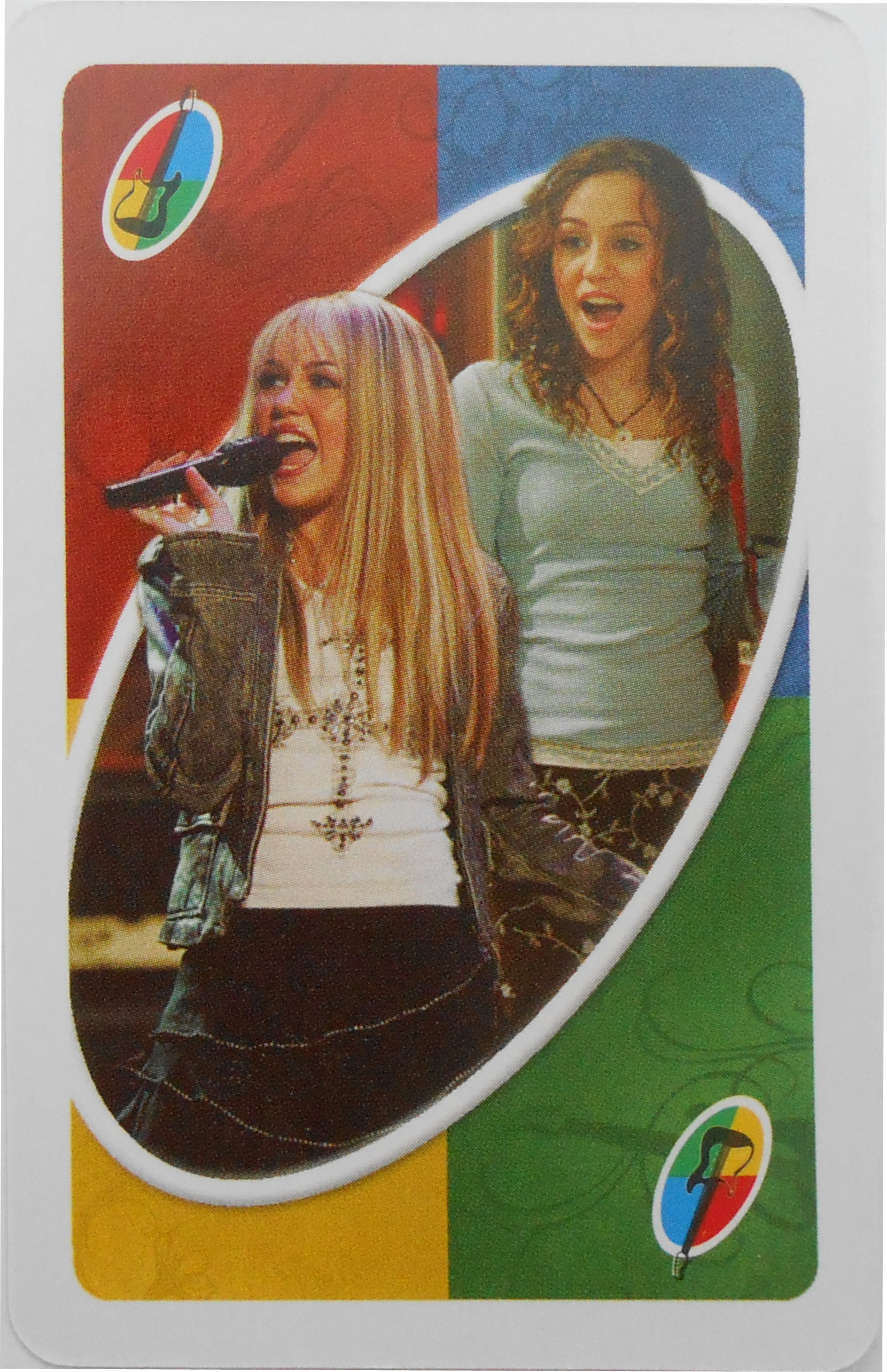 Hannah Montana Uno (Best of Both Worlds Card)