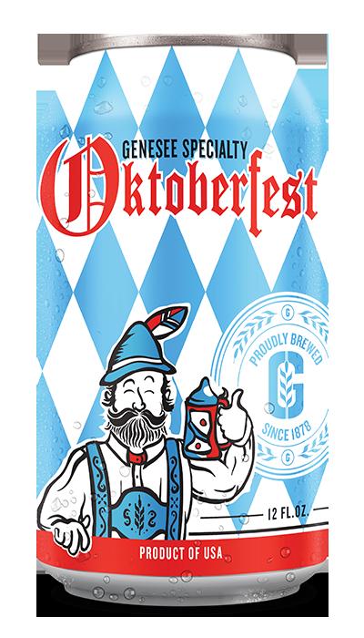 Genesee Oktoberfest can