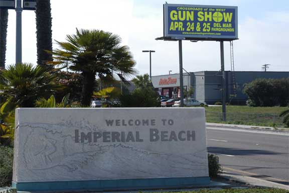 Imperial Beach, California Monument