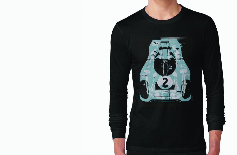 Porsche 917K Long Sleeve T-Shirt by thespeedart