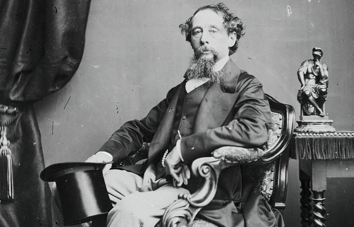 Чарльз Диккенс в 1860 году / Джон Уоткинс, ru.qaz.wiki/wiki