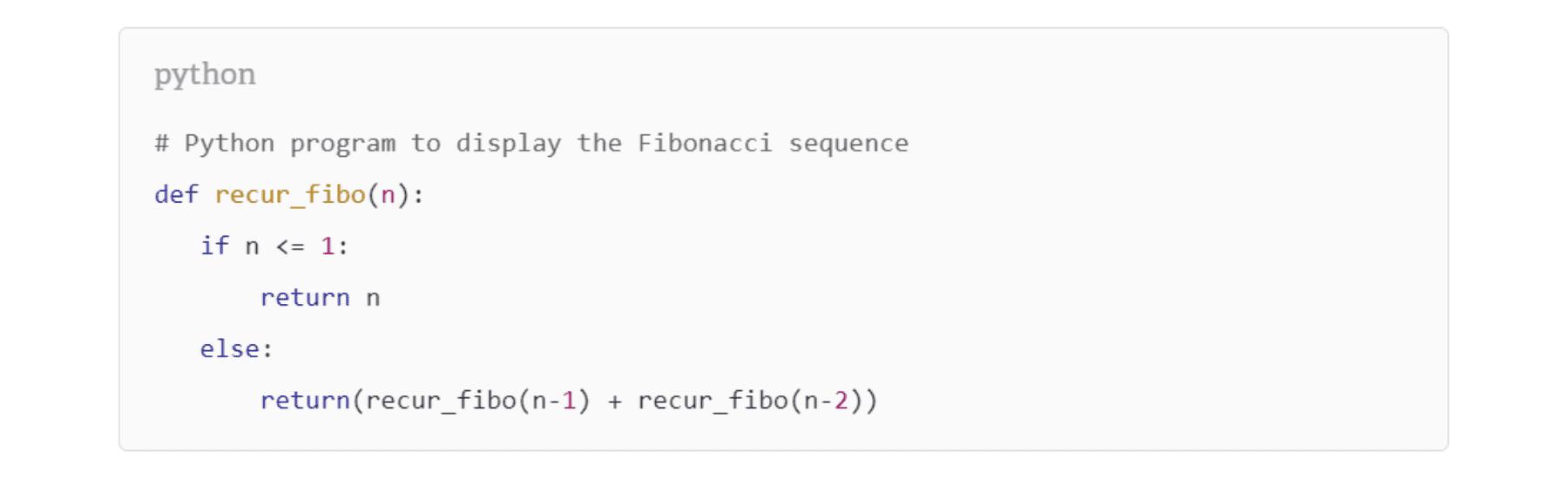 Python syntax highlighting