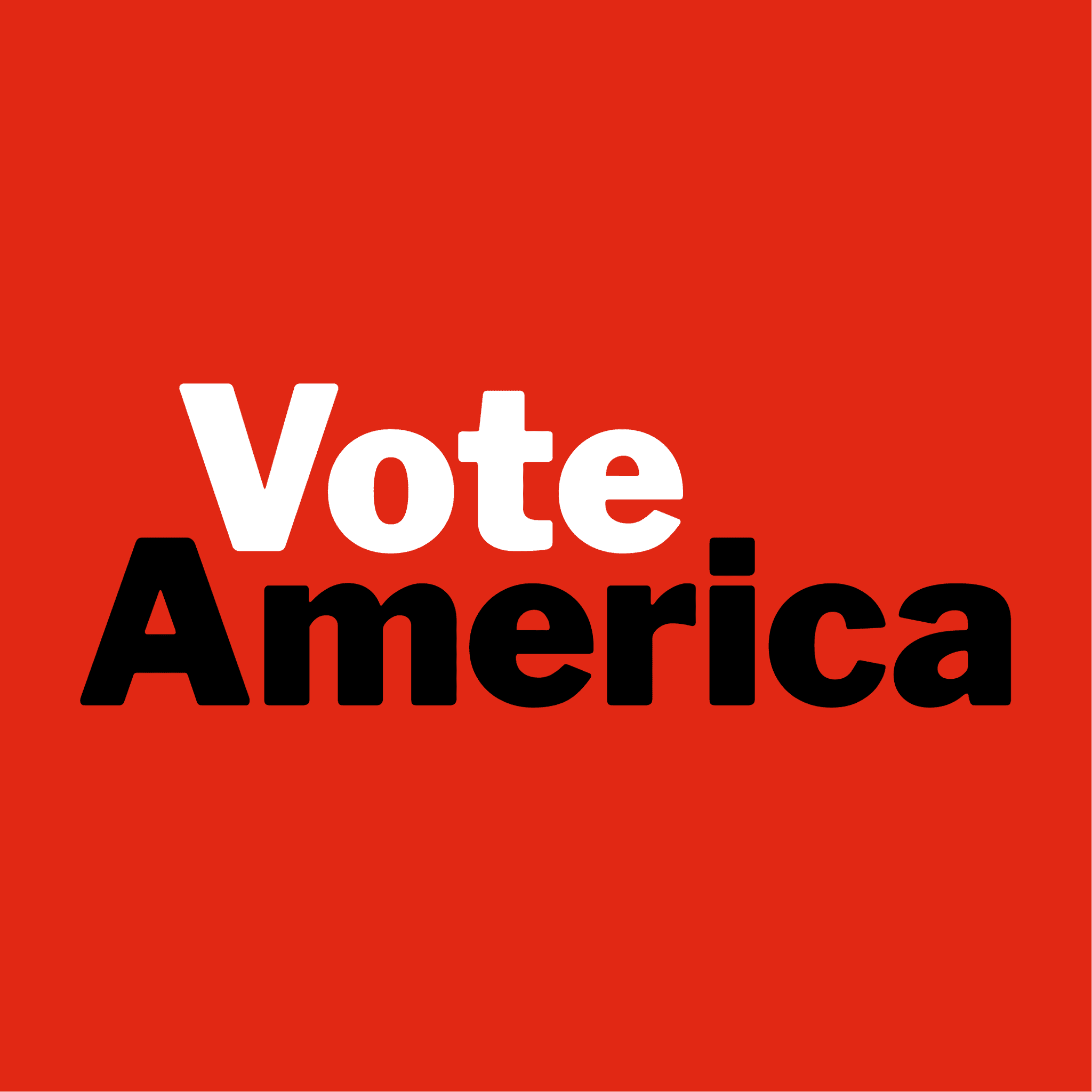 VoteAmerica logo, square