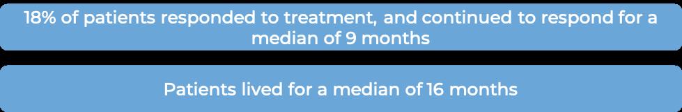 Prognosis with Herceptin alone (diagram)