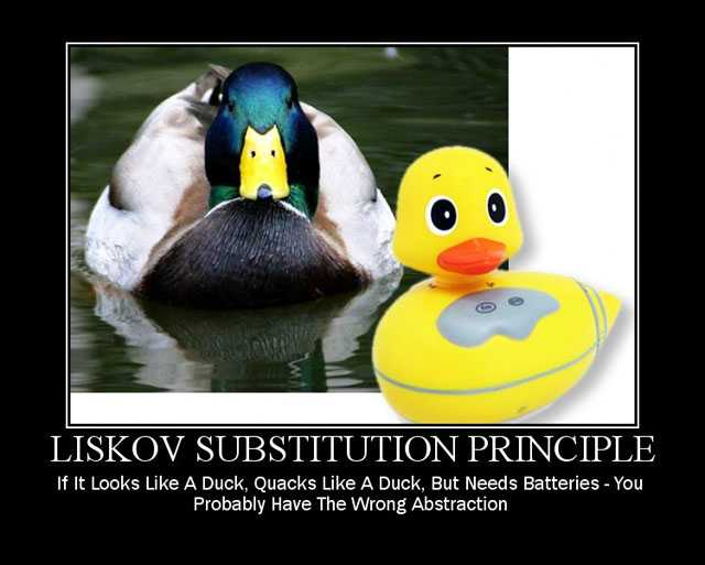 "Liskov Substitution Principle"""