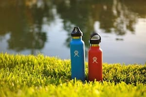 Photo of Hydroflask stainless steel water bottles