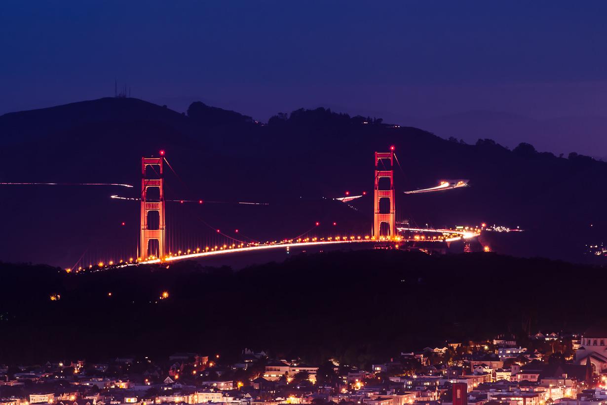 Golden Gate Bridge Curves