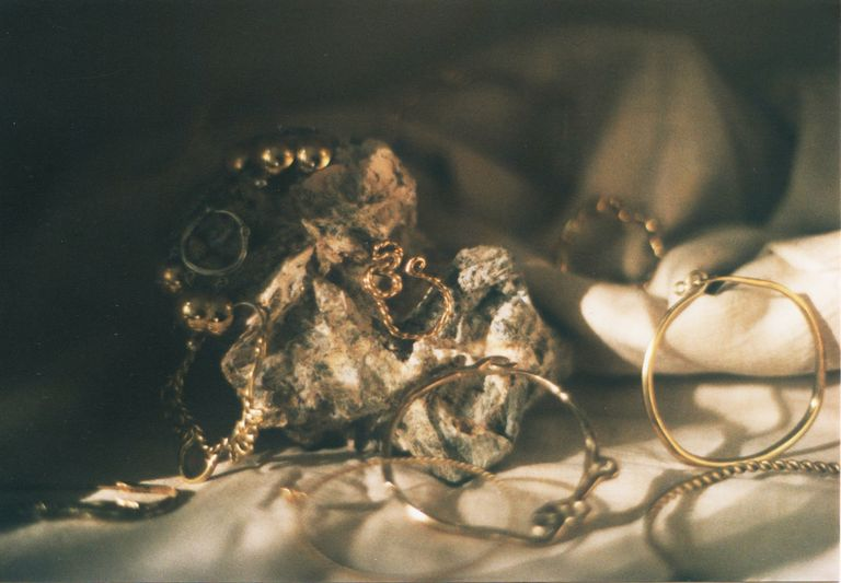 Still life with jewellery
