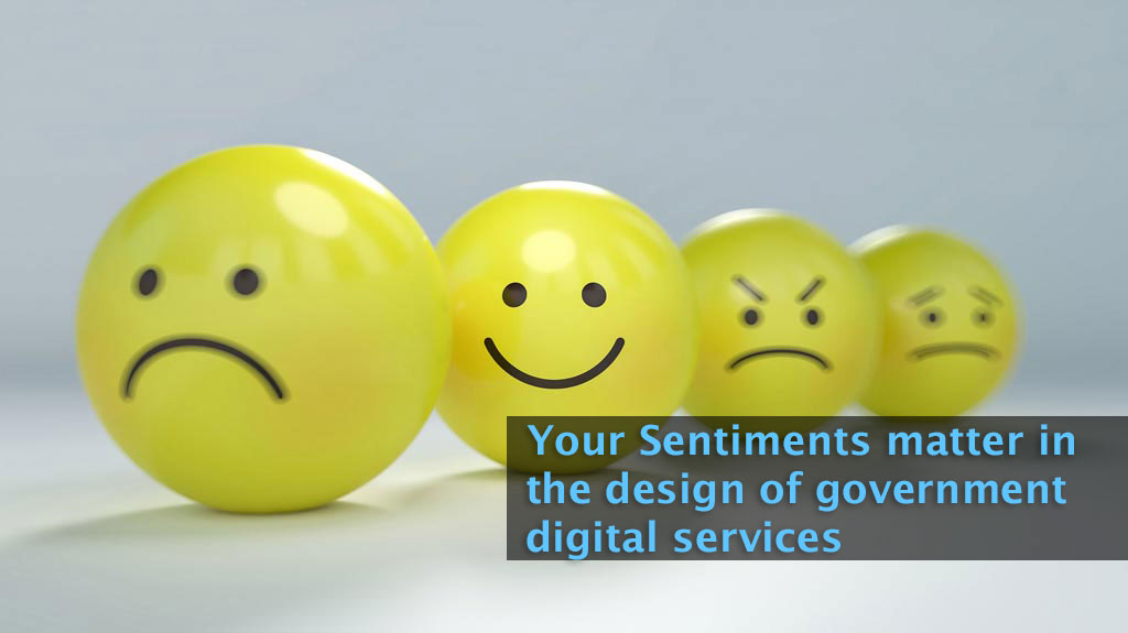 Sentiments from citizens are critical to gather insights in a Smart Nation